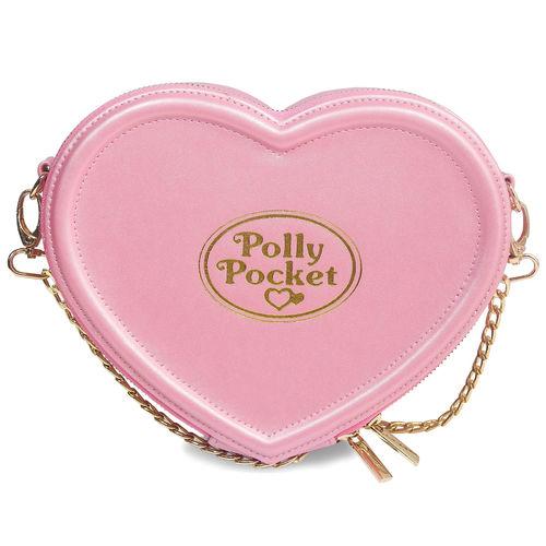 UW POLLY POCKET HEART SHAPED CROSS BODY BAG