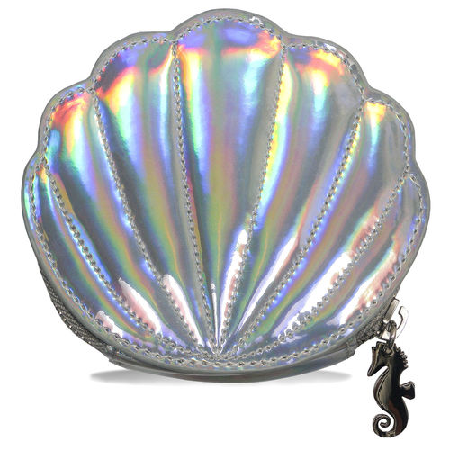 UW YOUTH TONIC SILVER PEARL SHELL COIN PURSE