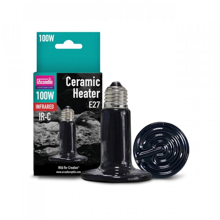 Arcadia Ceramic Heater Bulb, 100W