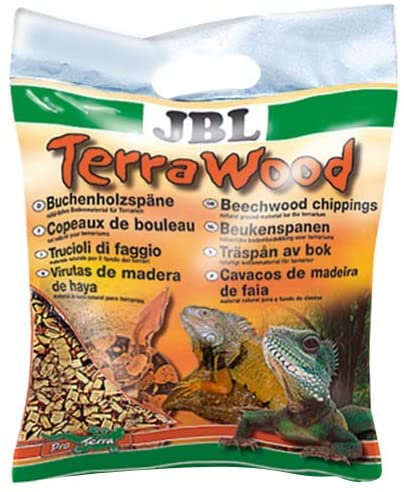 JBL Terra Wood Substrate Dry and Semi Dry Terrariums for Reptiles 20L