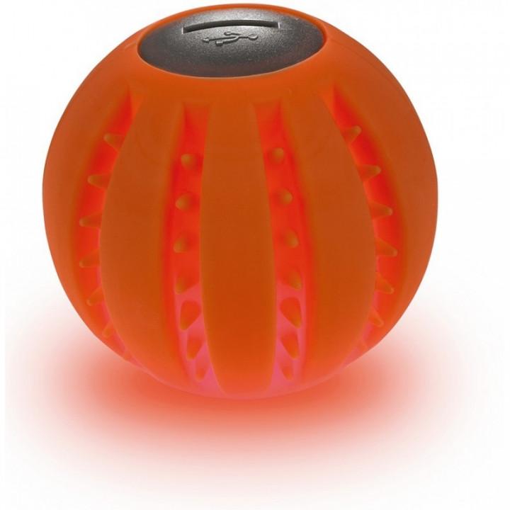 HUNTER YUKON LED GLOW BALL, 6 CM SILIC ORANGE