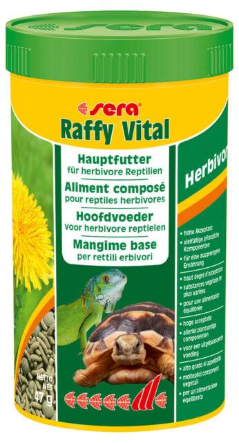 Sera Raffy Vital Tortue Land and Reptilian Herbivores 250ml