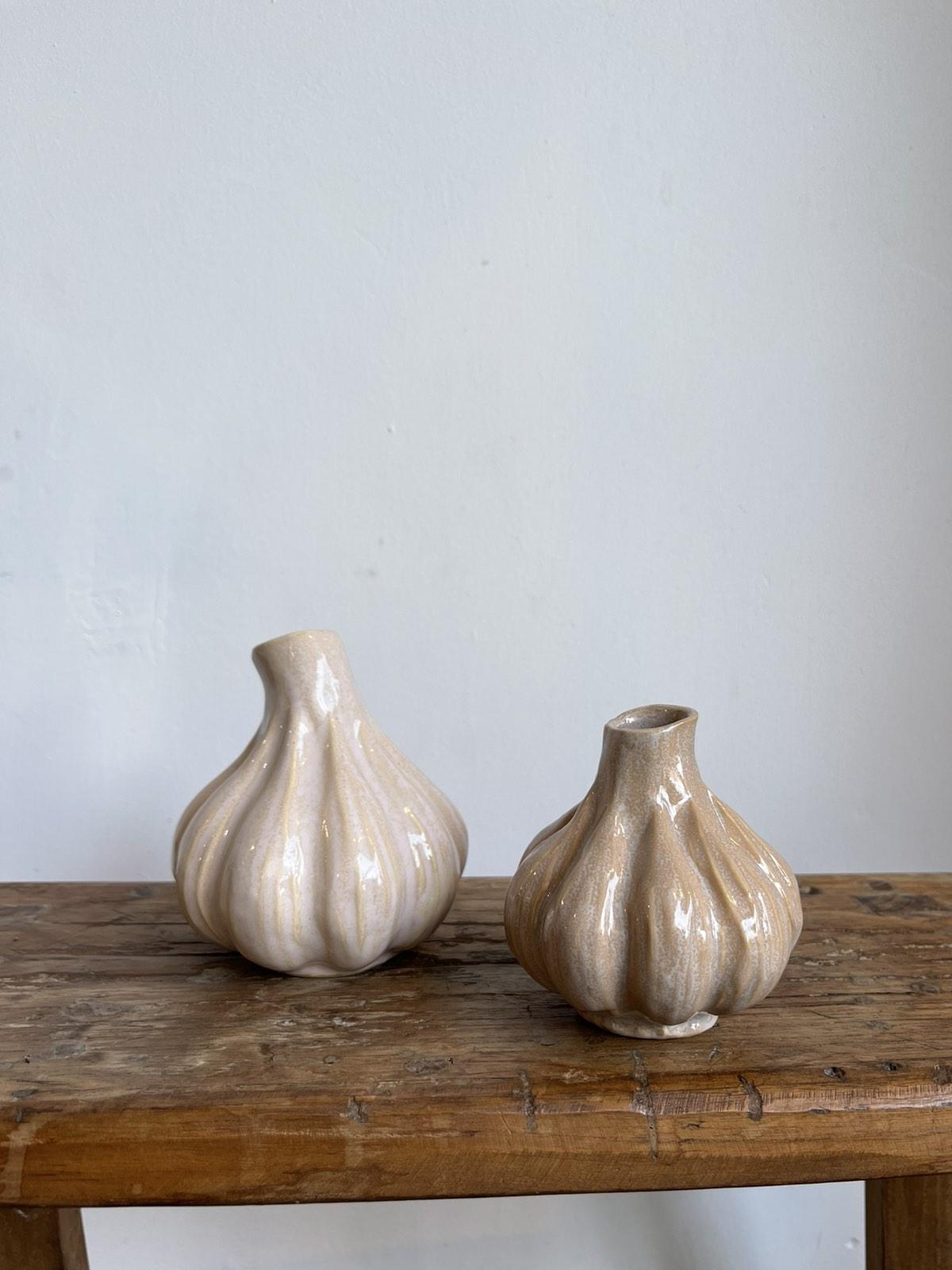 Garlic Vase Pink Big