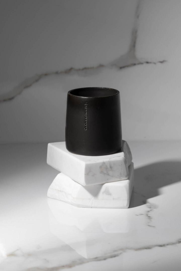 ESPRESSO CUP / BLACK / CERAMIC / SET OF 4