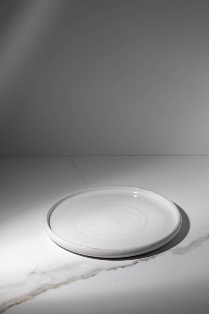 PLATE / WHITE / CERAMIC / L