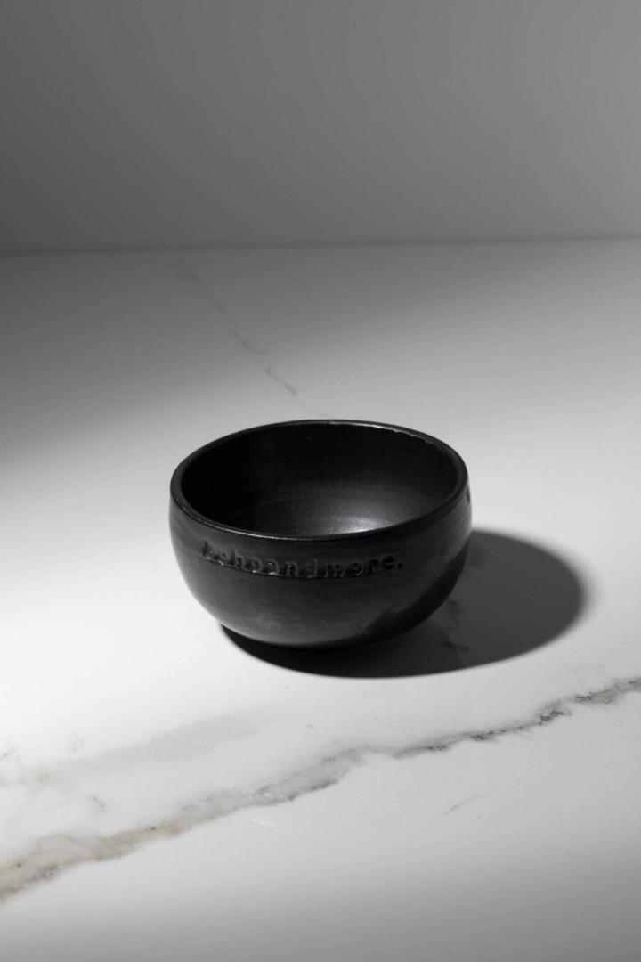 BOWL / BLACK / CERAMIC / S