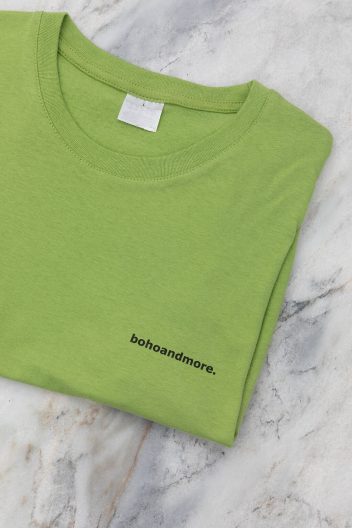BOHOANDMORE T-SHIRT / GREEN XL