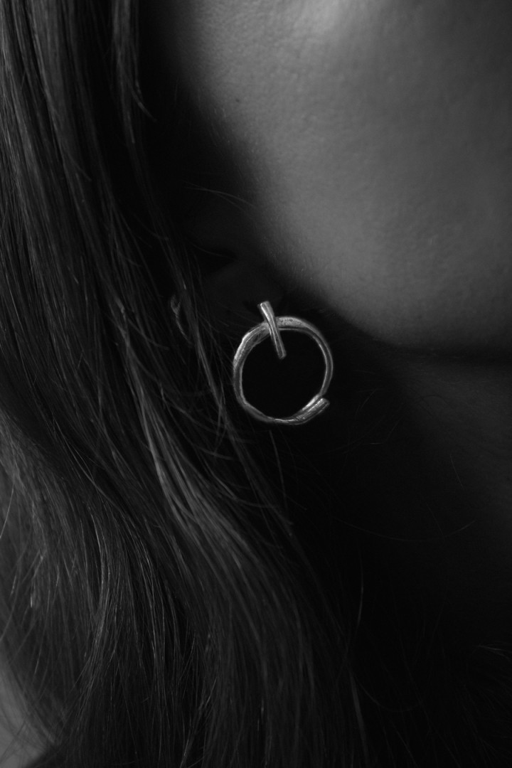 CIRCLE EARRINGS NA027