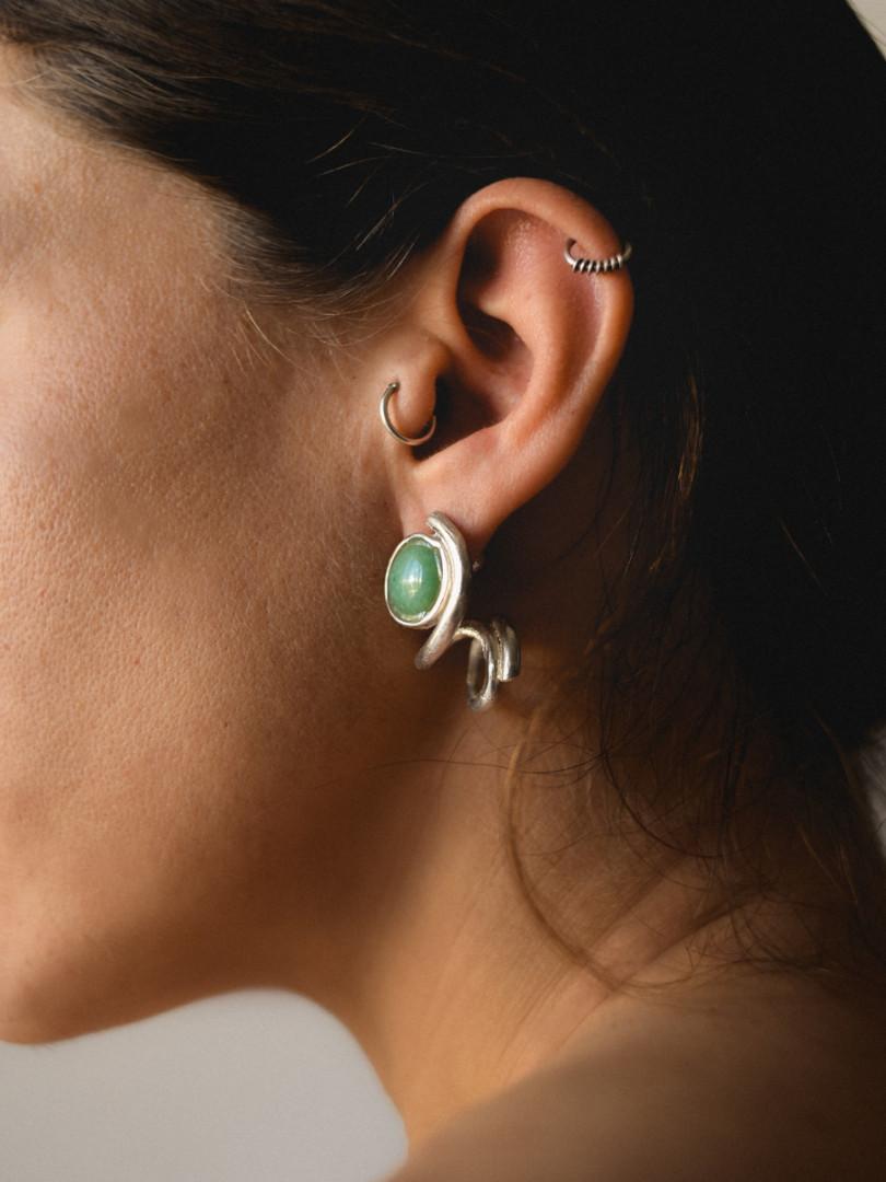 STONE EARRINGS NA035