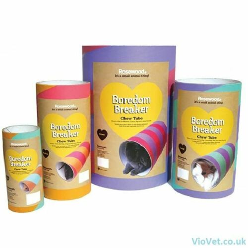 ROSEWOOD SMALL HAMSTER CHEW TUBE
