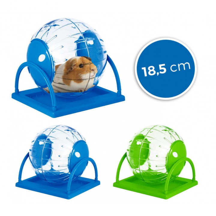 Twister Toy for Hamsters and Small Rodents Diameter 18.5 cm with Stand
