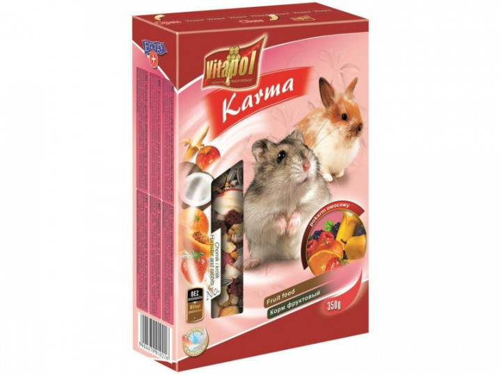 VITAPOL FRUIT FOR RODENTS 350G