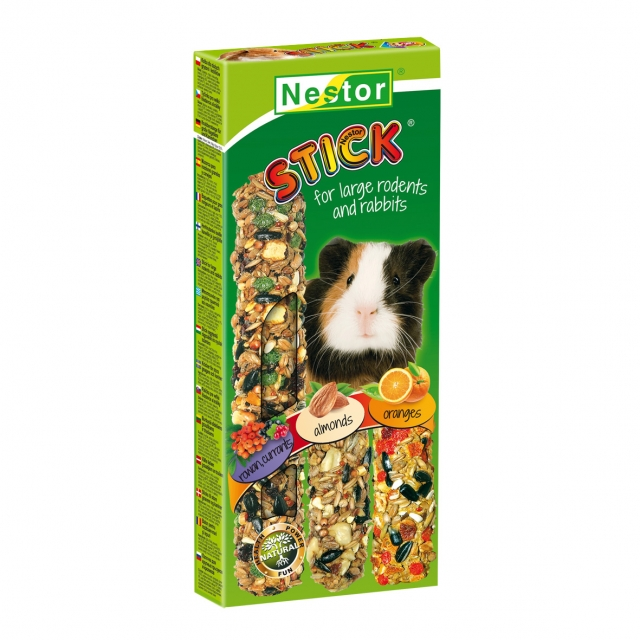 """CLASSIC STICKS """"3 IN 1"""" FOR RODENTS AND RABBITS"""
