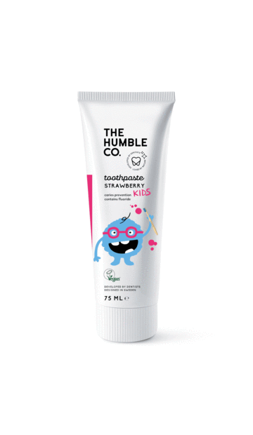 HUMBLE NATURAL TOOTHPASTE - KIDS STRAWBERRY