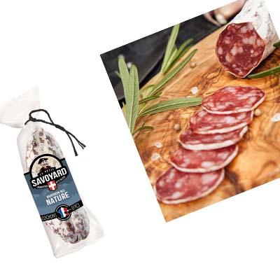 Saucisson dry de Savoie nature 200g