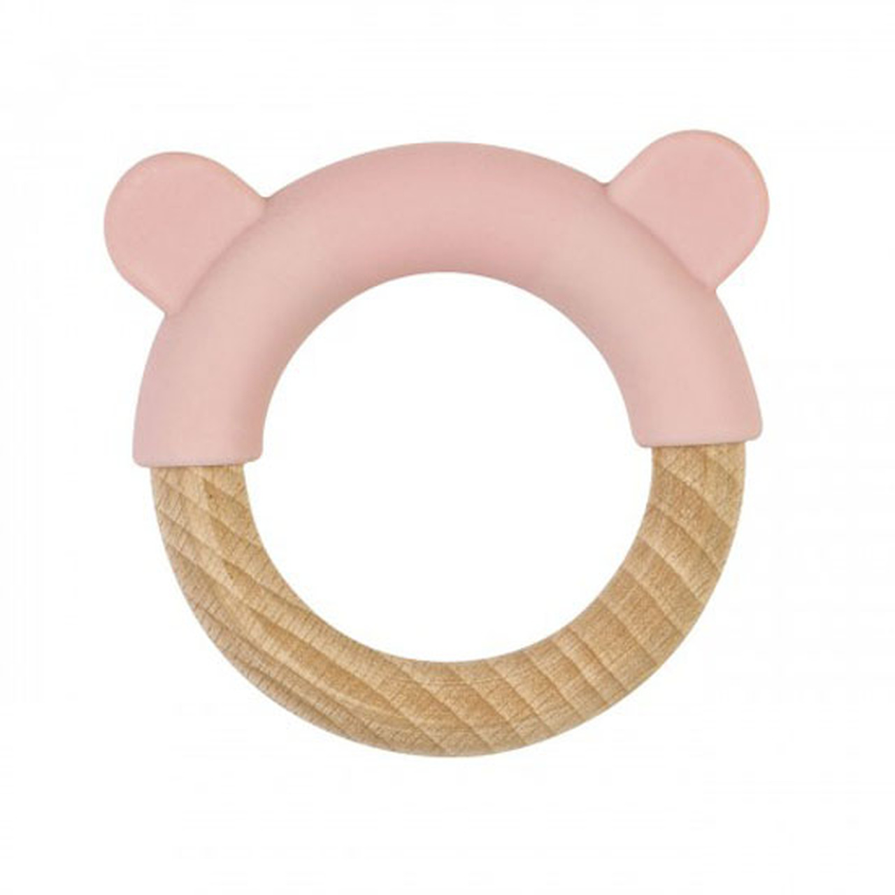 """SARO BABY NATURE TOY """"LITTLE EARS"""" PINK +4m"""